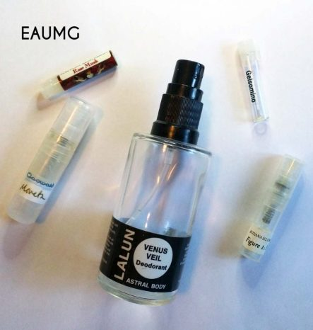 May 2017 perfume empties