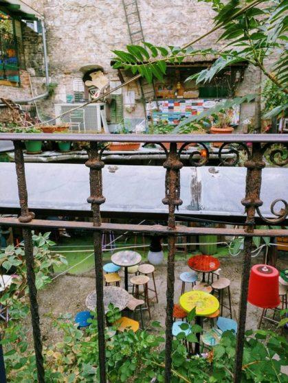 ruin bar in Budapest