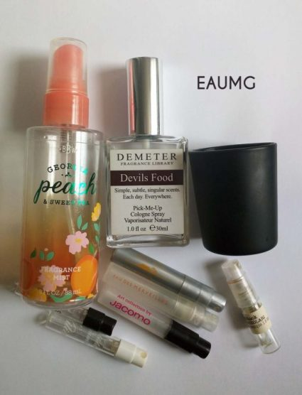 September 2017 fragrance empties