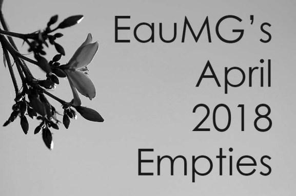 APril 2018 empties