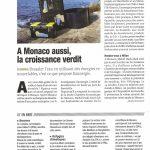 L'Ovservateur de Monaco de septembre 2015 - A Monaco aussi la croissance verdit