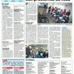 Nice-Matin- la 20 Enero 2012 Les jeunes sensibilisés au problème de l'eau