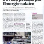 OPPBTP de février 2012 De l'eau potable par l'énergie solaire