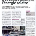 OPPBTP February 2012 Drinking water by solar energy
