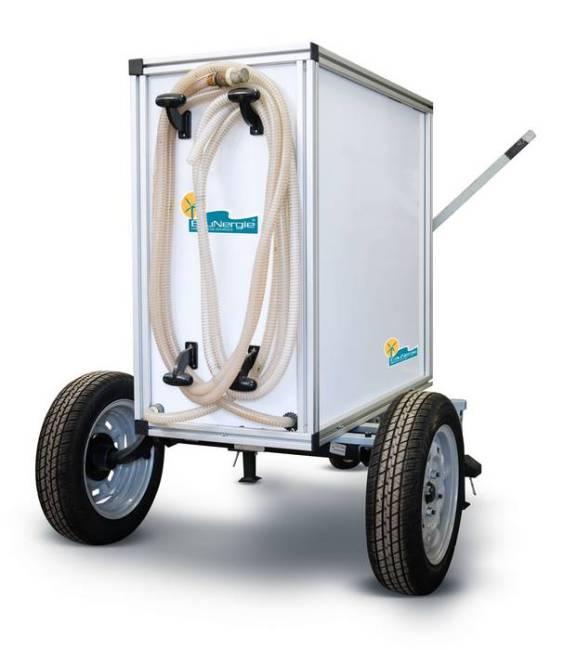 Eaumob par EauNergie - purification de l'eau par pompage manuel écologique et économique.