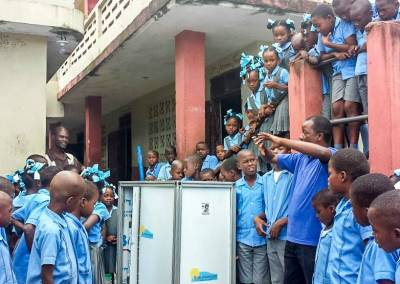 Wasser in Schulen in Haiti