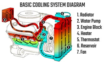 Gm Parts Book Diagrams Cooling System Amp Radiator Servicing Amp Repairs Everything
