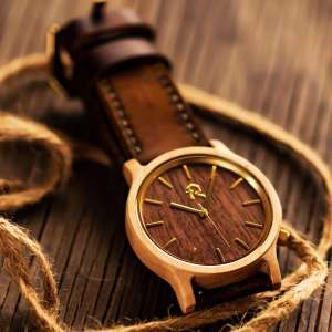 maple wood mes watch