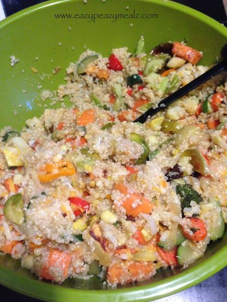 quinoa casserole