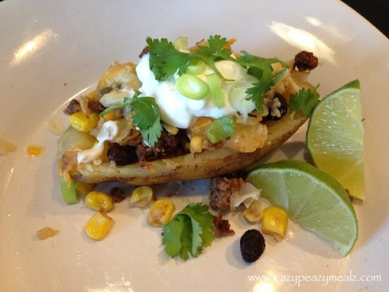 santa fe loaded baked potato