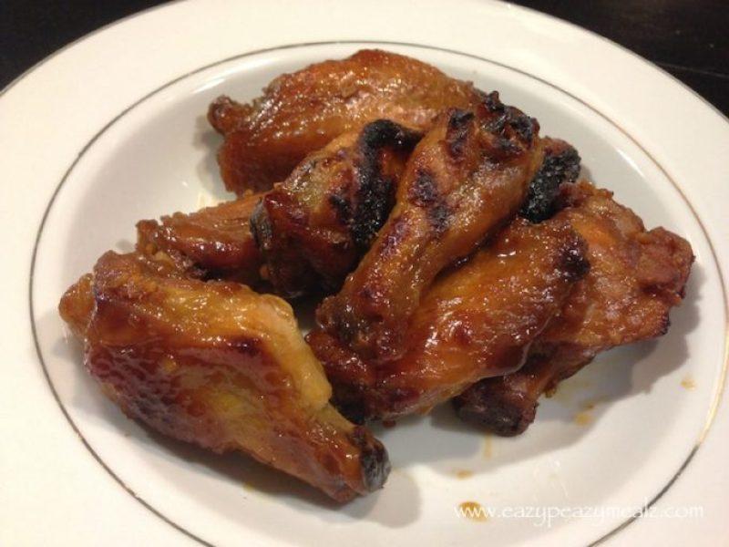 apricot glaze wings
