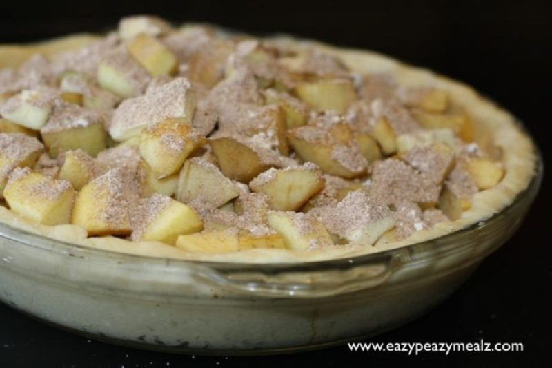 chunky apple pie