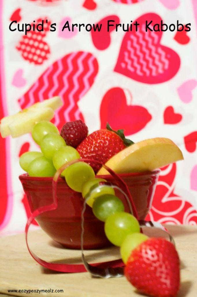 Cupid's Arrow Fruit Kabob