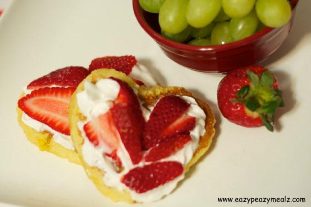 Heart french toast