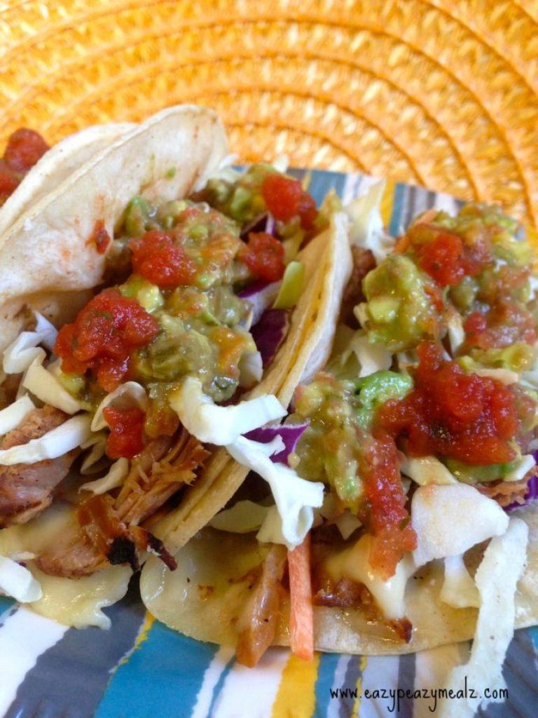 pork gouda tacos
