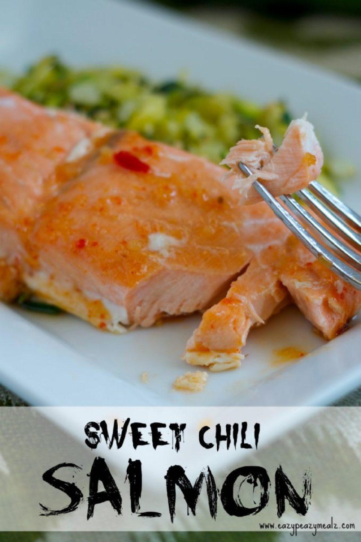sweet chili salmon