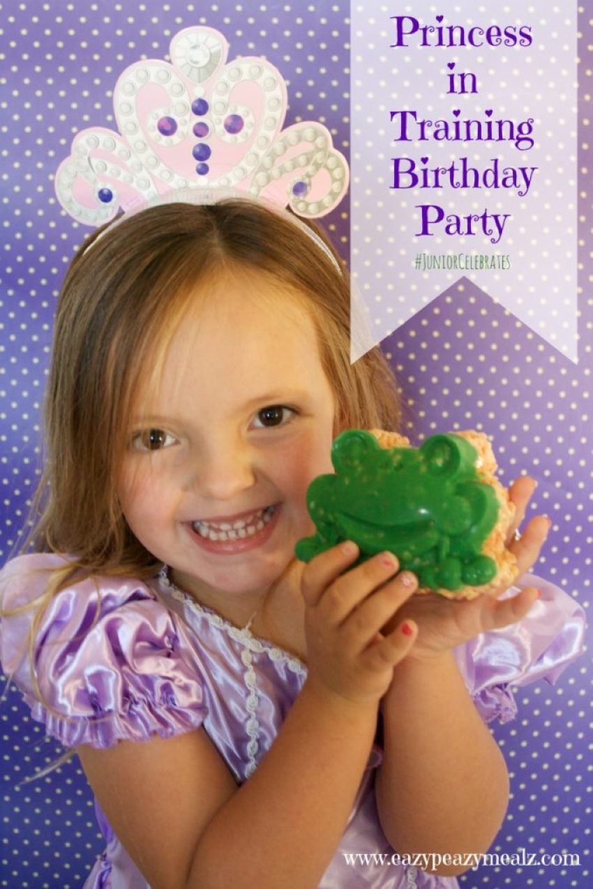 Princess in Training Birthday Party
