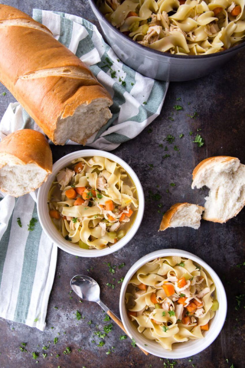 Rotisserie Chicken Noodle Soups!