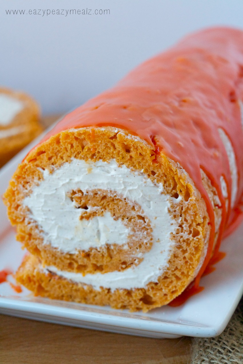Fast And Easy Pumpkin Roll