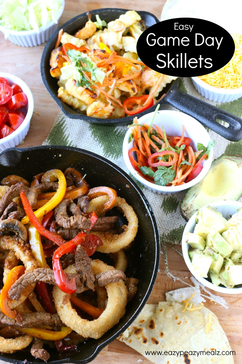 Easy game day skillets #Gametime