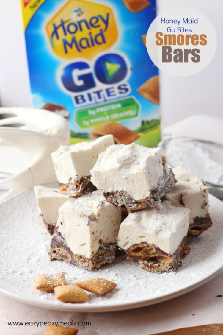 Hm Go Bite Smores bars