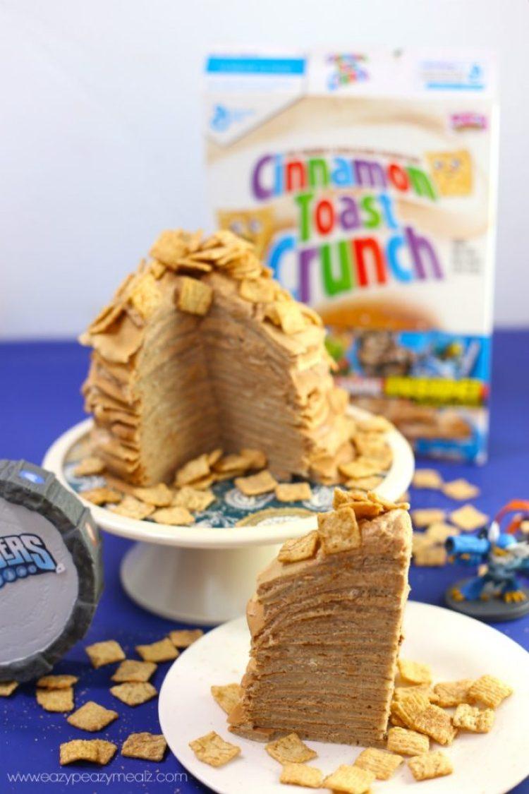 CTC crepe cake slices