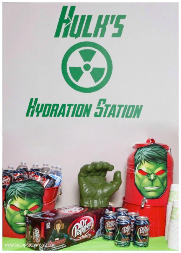 Hulk hydration station