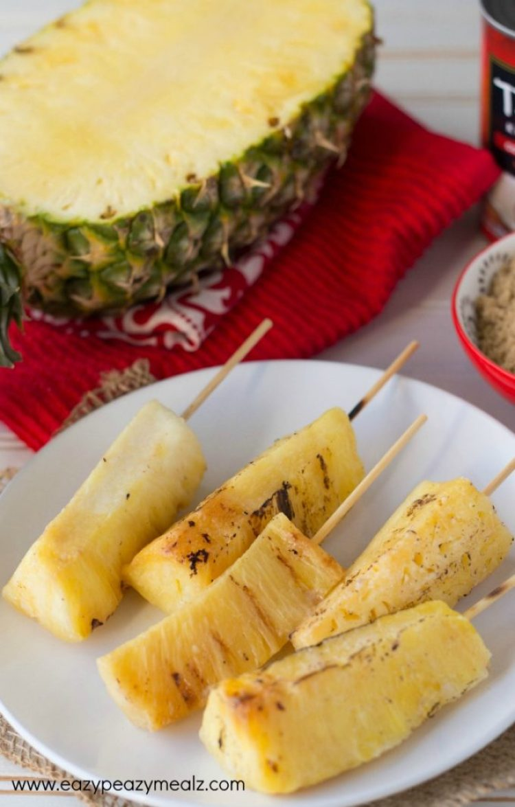 Pineapple skewers
