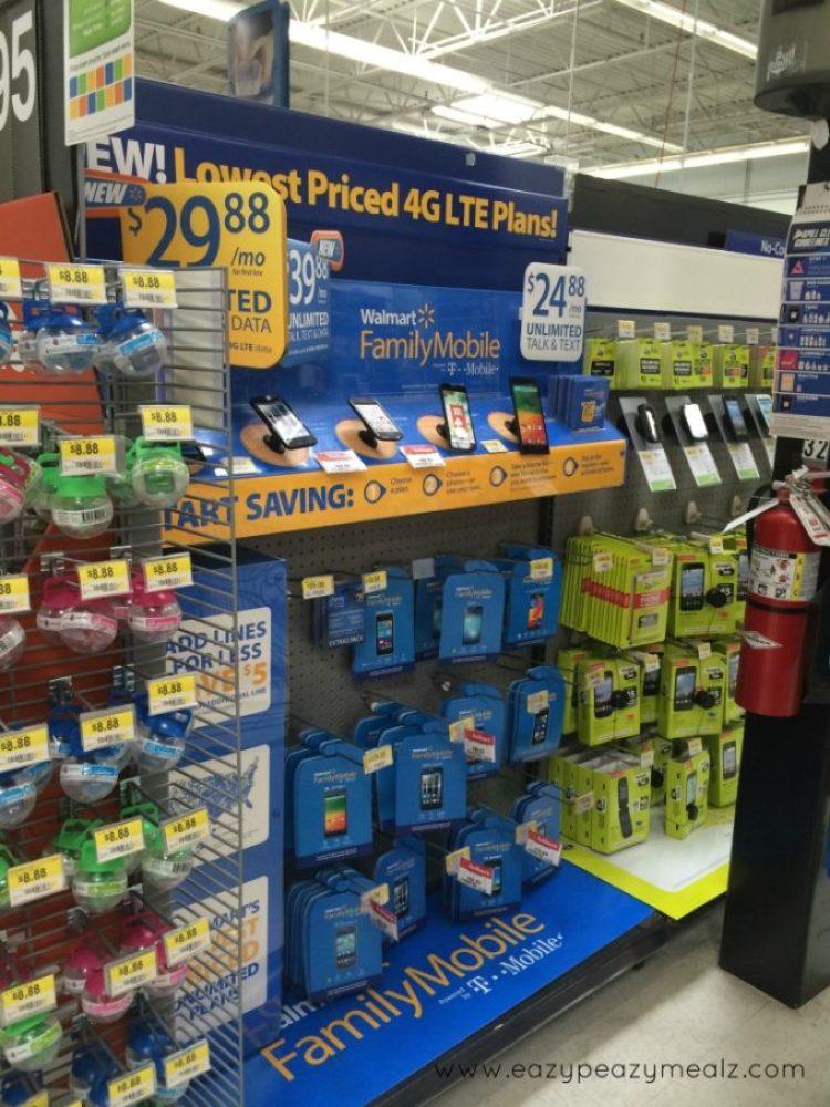 Walmart cell phone aisle