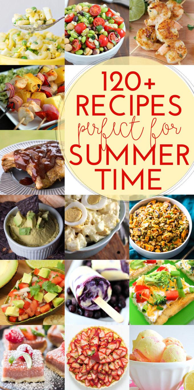 summer recipes, grilling. BBQ,