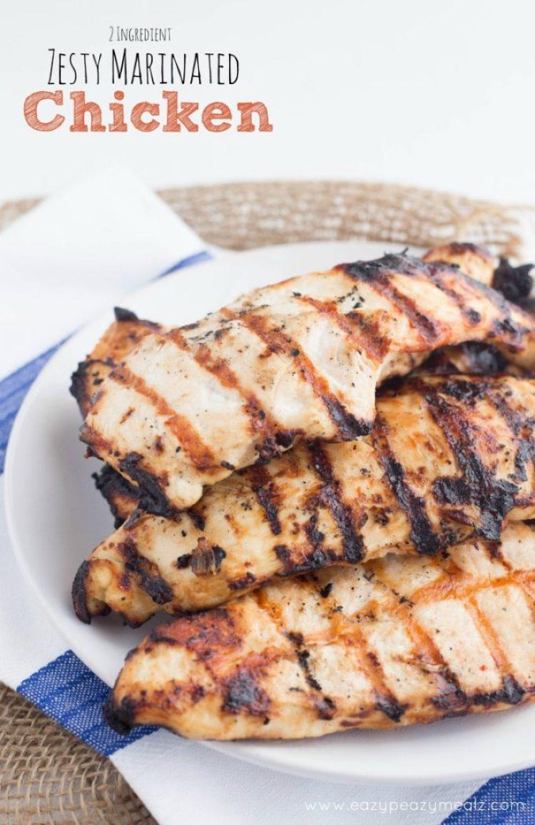 2 ingredients zesty marinade for chicken