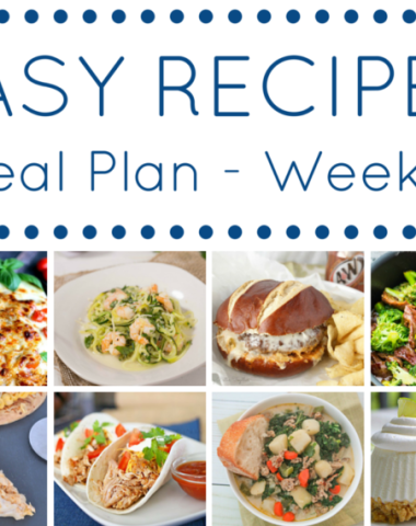 Easy Recipes Meal Plan: Some thing for everyone, a meal plan that takes the stress out of meal time. Plan, prep, shop all in one go!