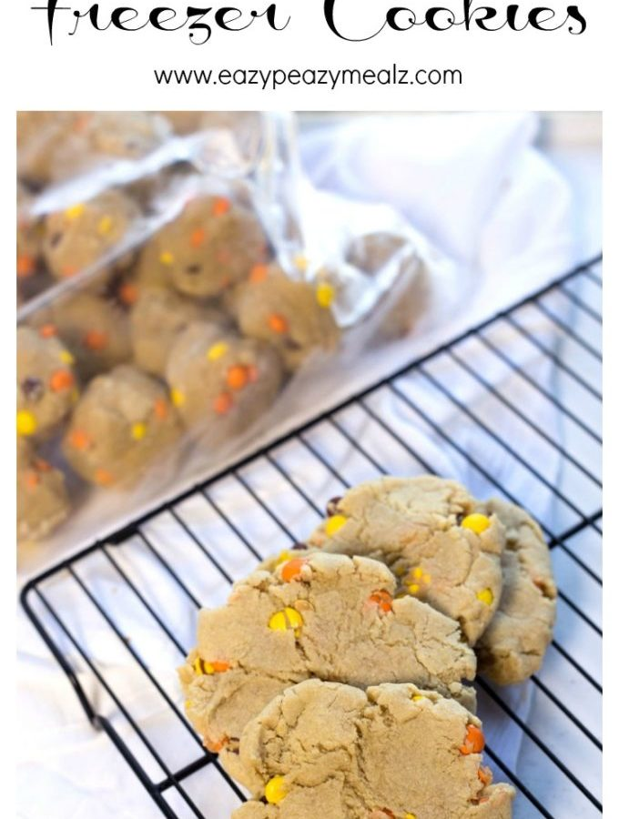 Peanut butter freezer cookies that are oh so yummy