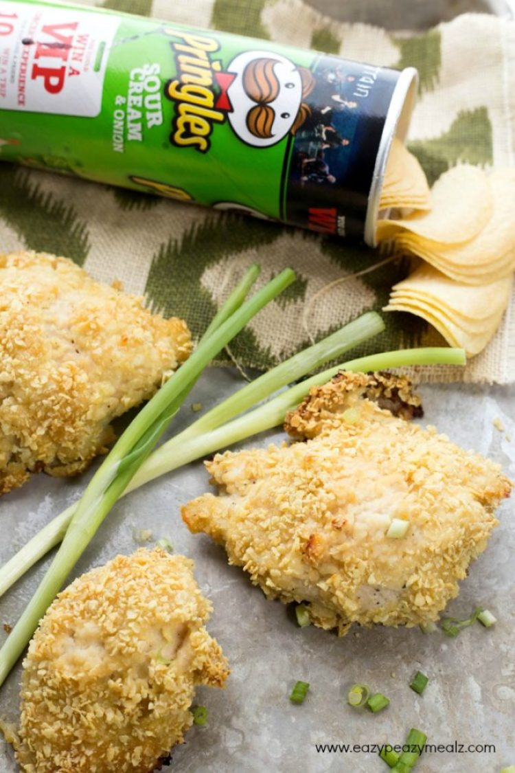 Sour cream n onion baked chicken breasts, easy to make and full of flavor