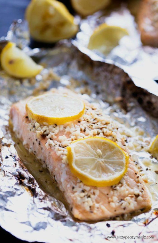 Salmon-finished