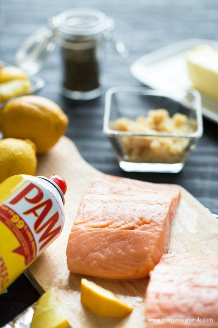Salmon-ingredients