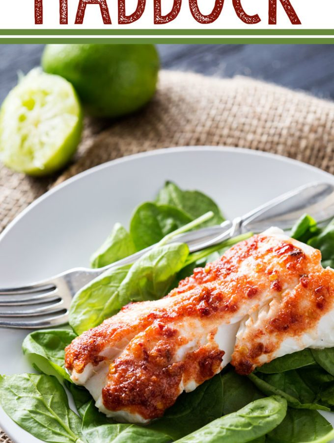 A Harissa Baked Haddock is an easy, flavorful way to enjoy fish.
