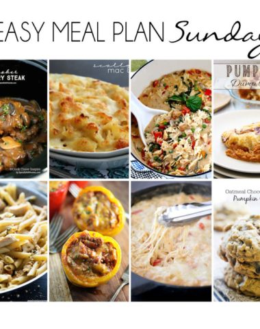 Easy Recipe Meal plan, makes it easy to plan your meals for the whole week.