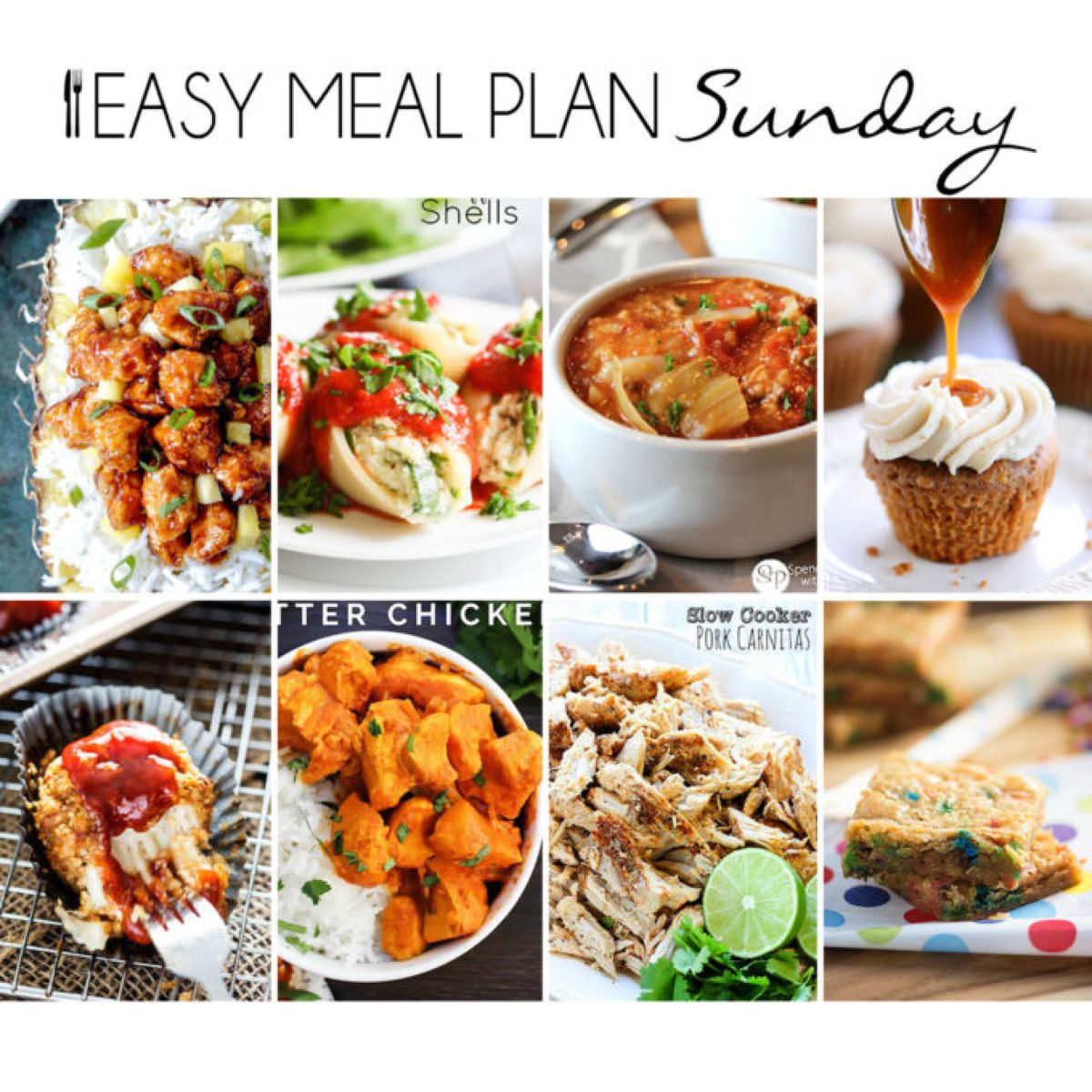 Take the planning out of meal plan with this easy set of delicious recipes.