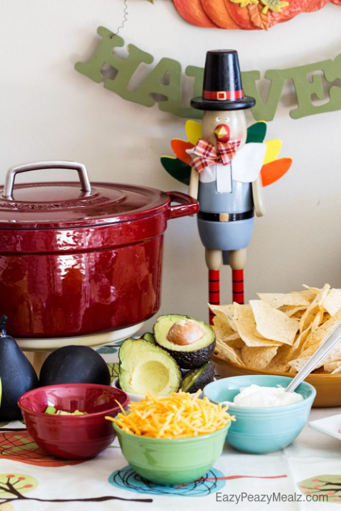 Add some fun and customize your soup with the soup topper bar!