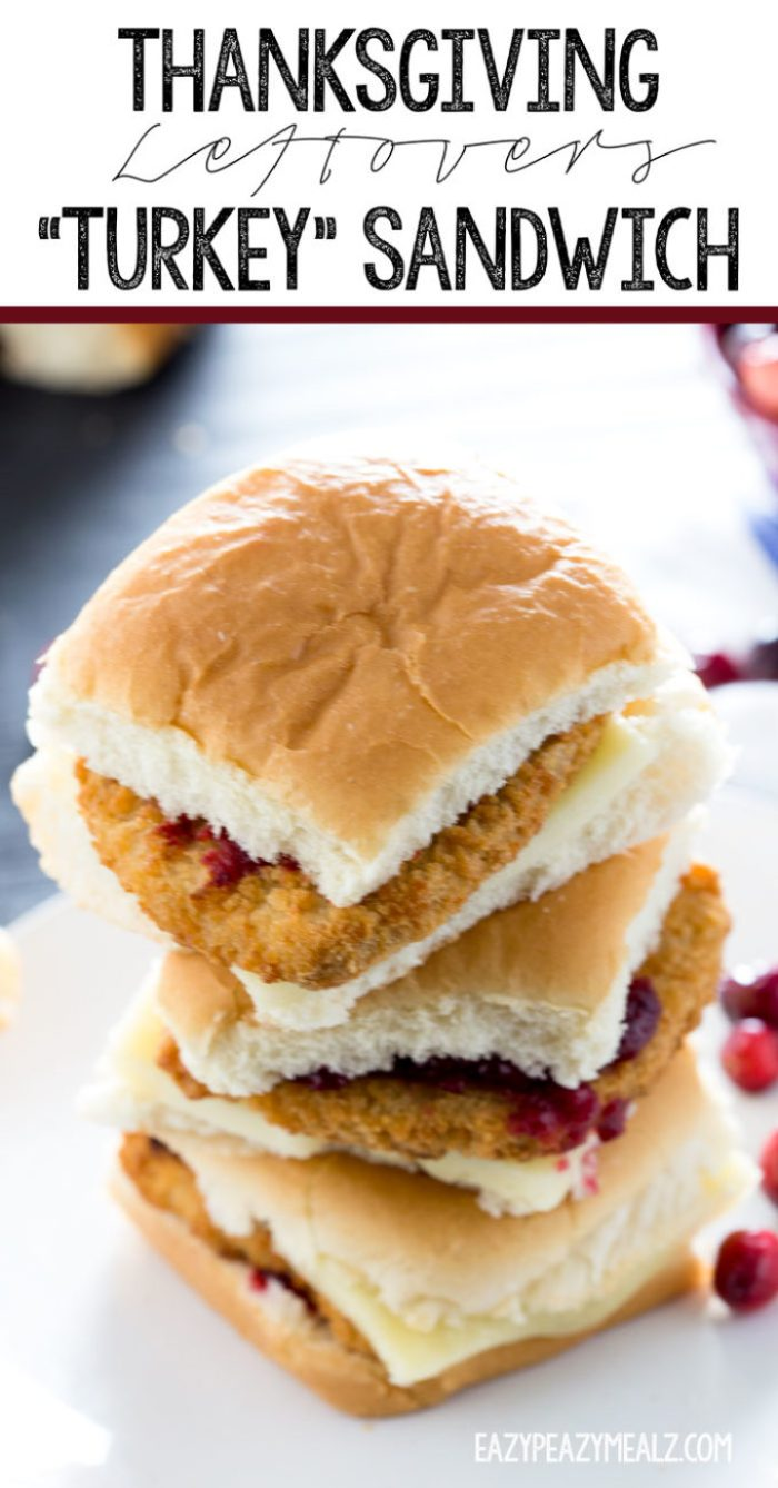 Turkey sandwiches made with vegan turkey. Absolutely delicious using leftovers from Thanksgiving.