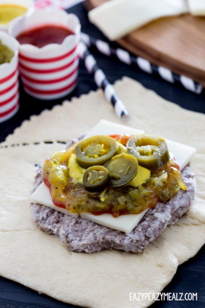 Prepping-Burger-Wraps