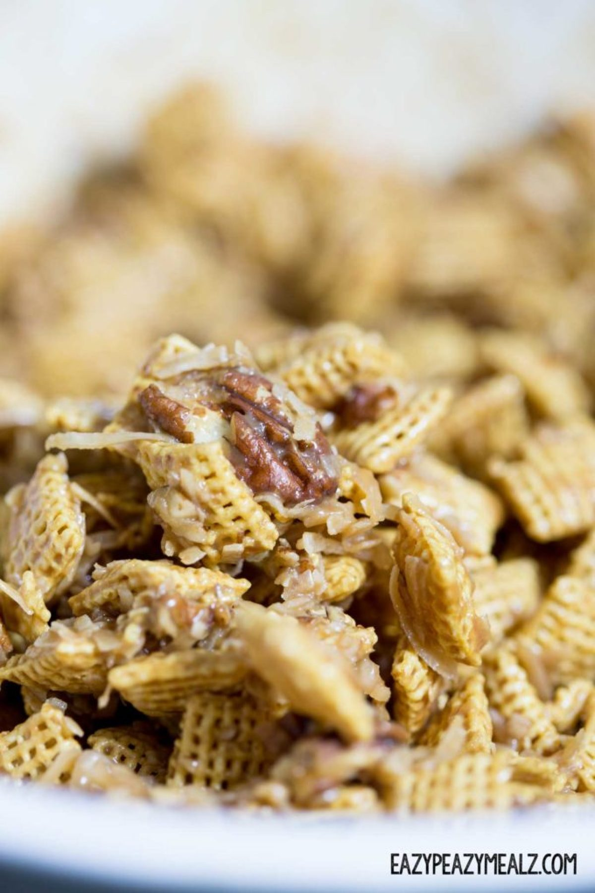 german-chocolate-chex-mix