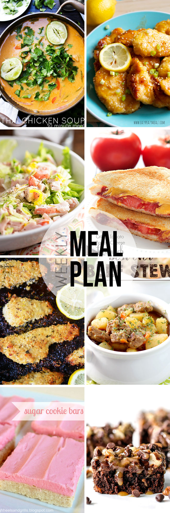 Easy meal plan full of delicious recipes