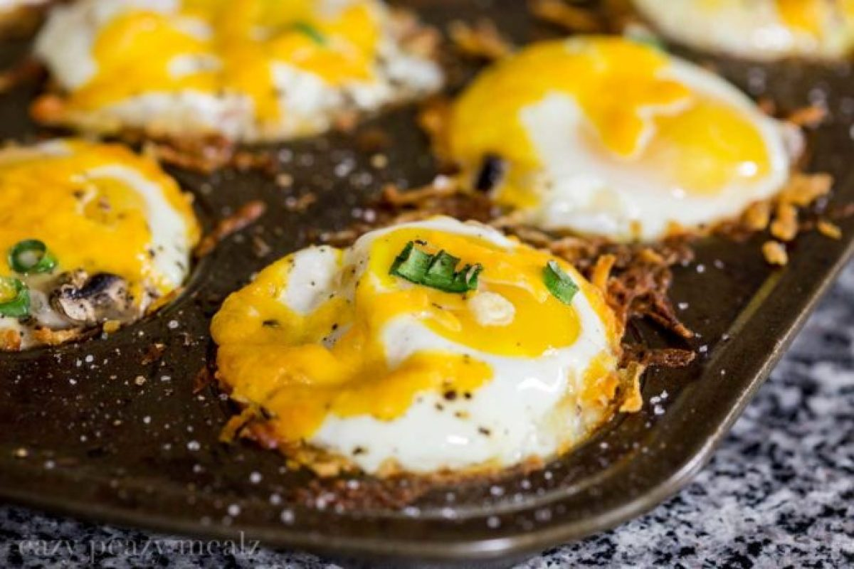 In-PAN-Cooked-Denver-Omelet-Cupcakes