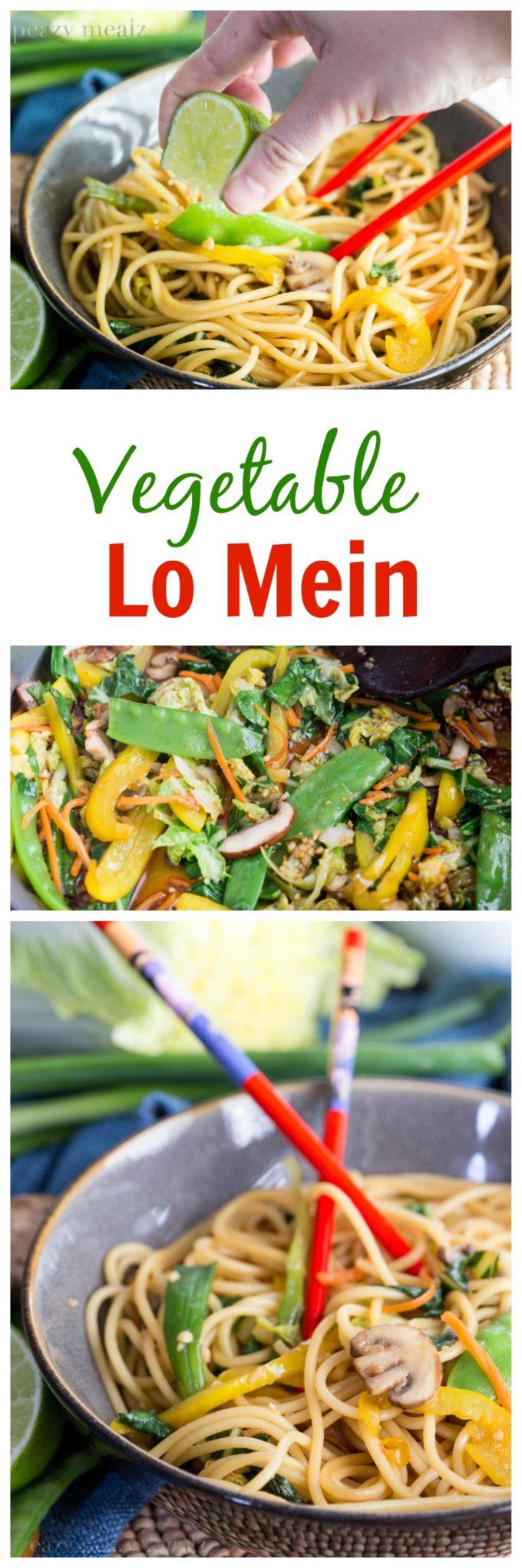 Veggie Lo Mein Pin