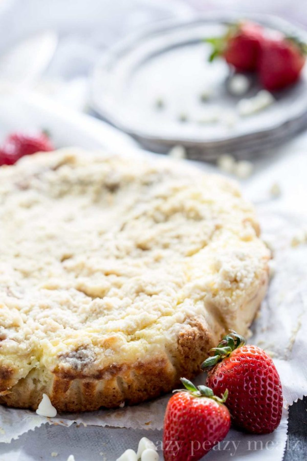 coffee cake, it's delicious for breakfast or dessert