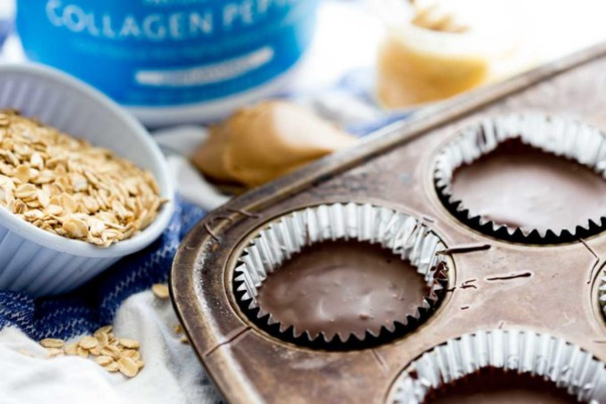 so easy and delicious, healthy protein peanut butter cups are the best snack or treat