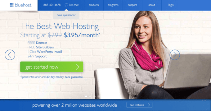 How to host with blue host