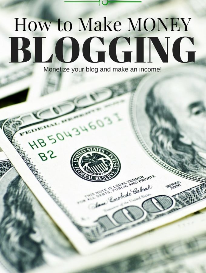 How to Make Money Blogging, Monetize Your Blog
